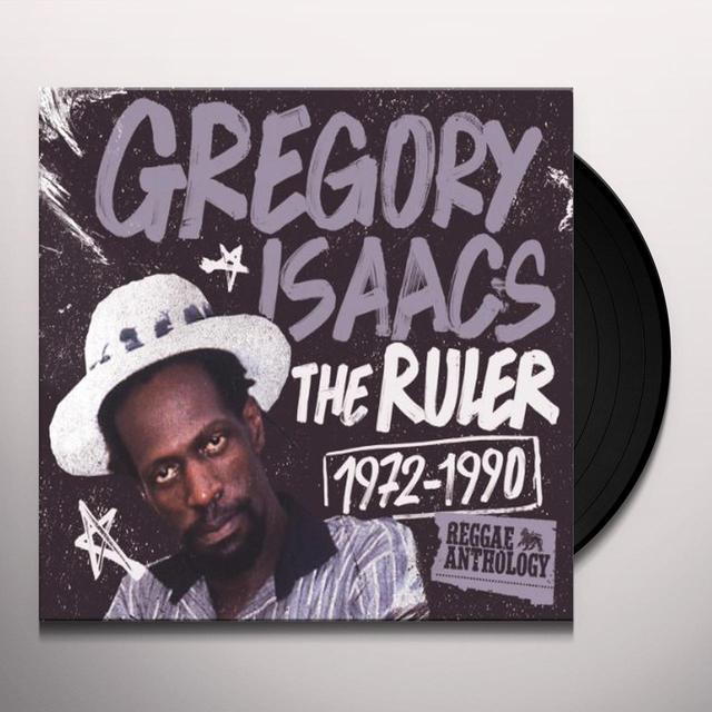 Gregory Isaacs RULER 1972-1990: REGGAE ANTHOLOGY Vinyl Record