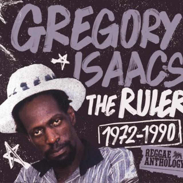 Gregory Isaacs RULER 1972-1990: REGGAE ANTHOLOGY Vinyl Record