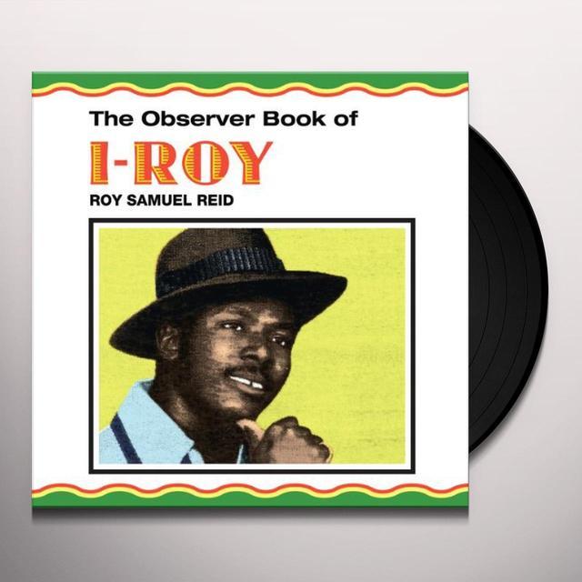 OBSERVER BOOK OF I-ROY Vinyl Record