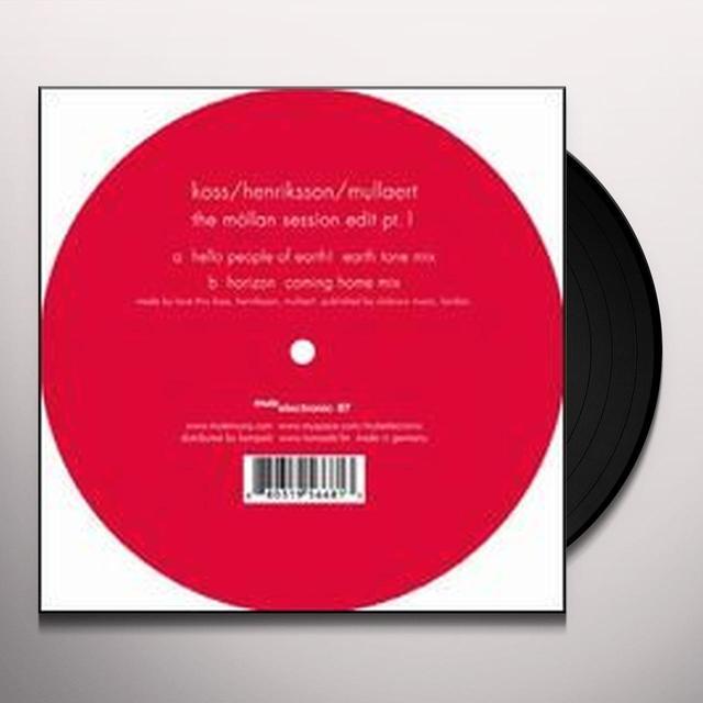 Koss / Henriksson / Mullaert MOLLAN SESSION EDIT 1 Vinyl Record