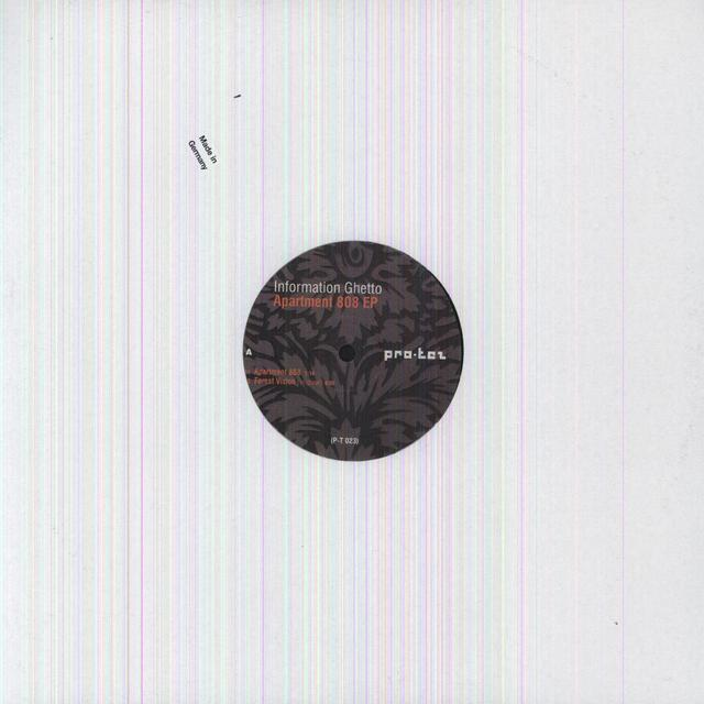 Information Ghetto APARTMENT 808 Vinyl Record
