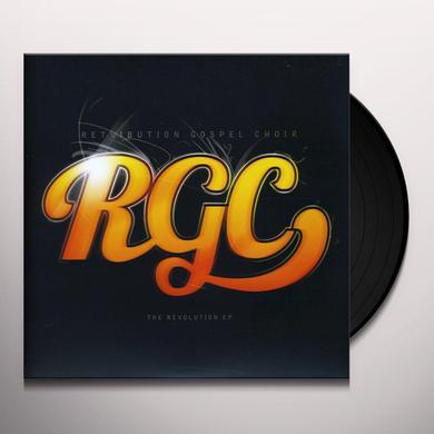 Retribution Gospel Choir REVOLUTION (EP) Vinyl Record