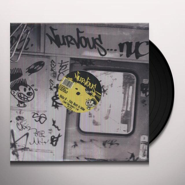 Vicky D THIS BEAT IS MINE Vinyl Record