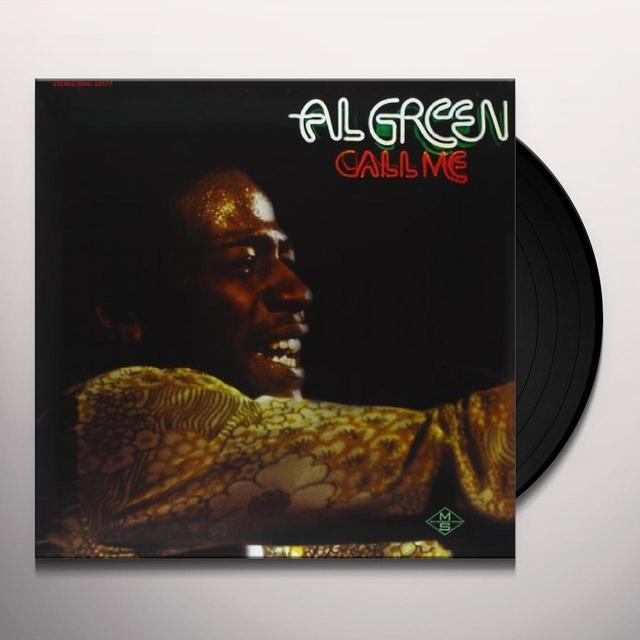 Al Green CALL ME Vinyl Record - 180 Gram Pressing