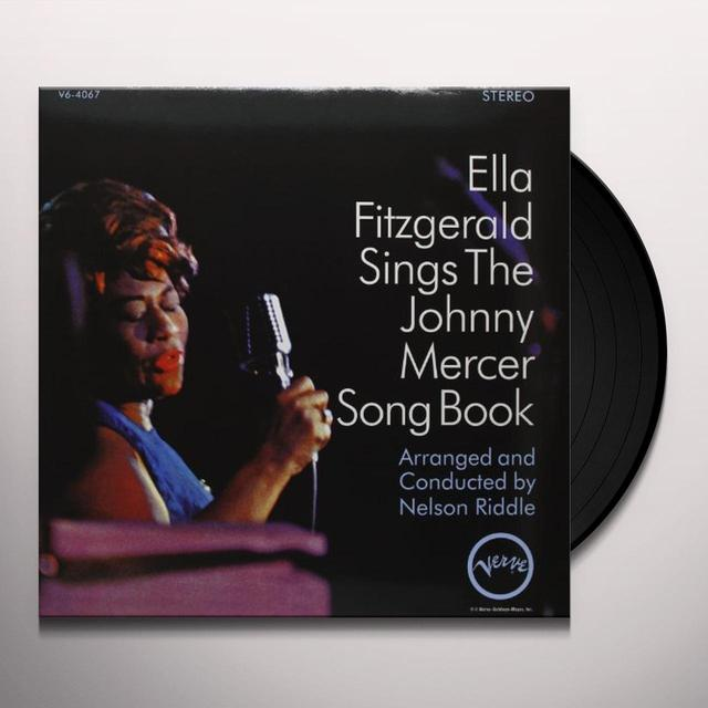 Ella Fitzgerald SINGS THE JOHNNY MERCER SONG BOOK Vinyl Record - 180 Gram Pressing
