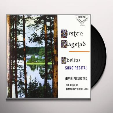 Sibelius / Flagstad / London Sym Orch / Fjeldstad SONG RECITAL Vinyl Record