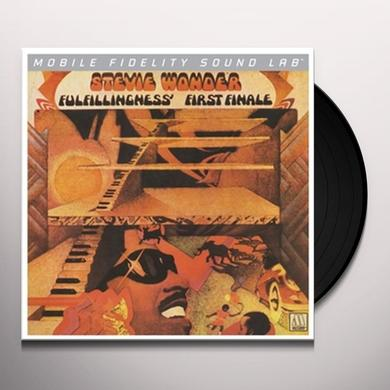Stevie Wonder FULFILLINGNESS FIRST FINALE Vinyl Record - Limited Edition