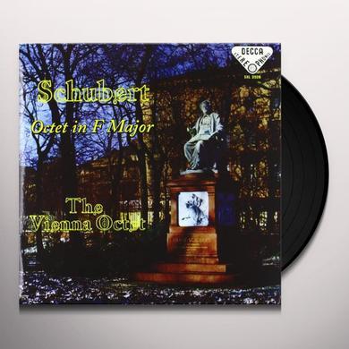 Schubert / Vienna Octet / Boskovsky OCTET IN F MAJOR Vinyl Record - 180 Gram Pressing