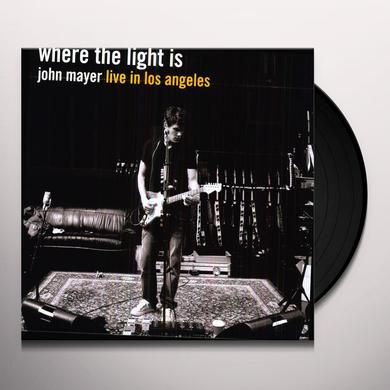 John Mayer WHERE THE LIGHT IS Vinyl Record