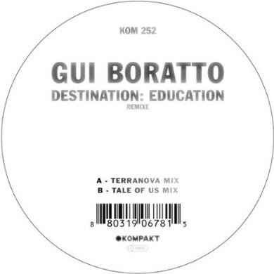 Gui Boratto DESTINATION: EDUCATION REMIXES Vinyl Record