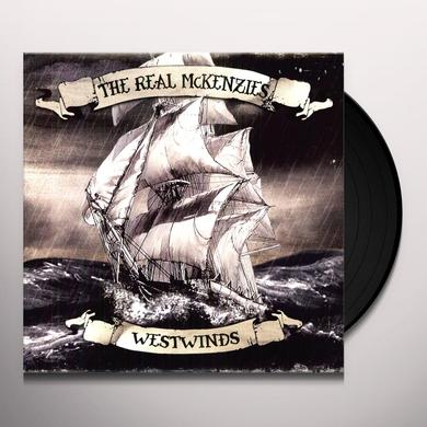 The Real McKenzies WESTWINDS Vinyl Record