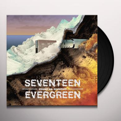 Seventeen Evergreen STEADY ON SCIENTIST Vinyl Record