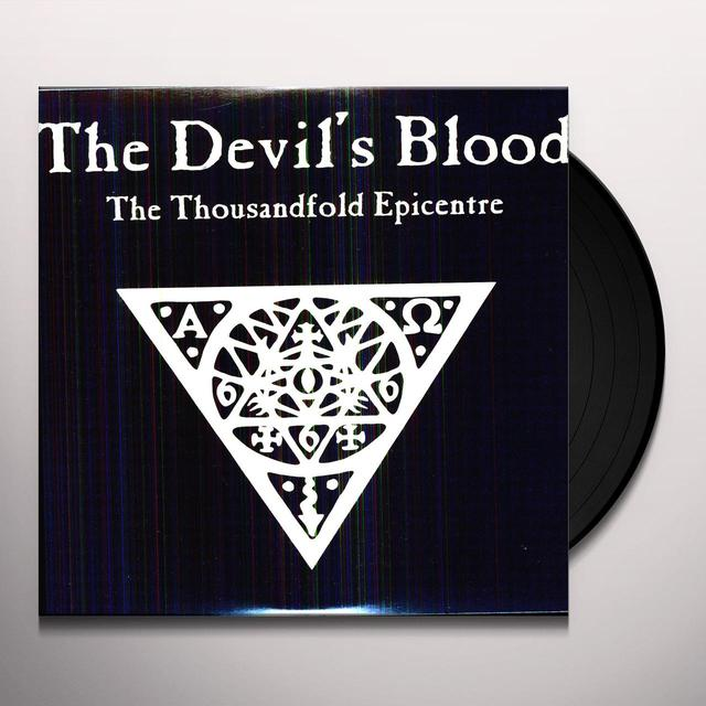 Devil'S Blood THOUSANDFOLD EPICENTRE Vinyl Record