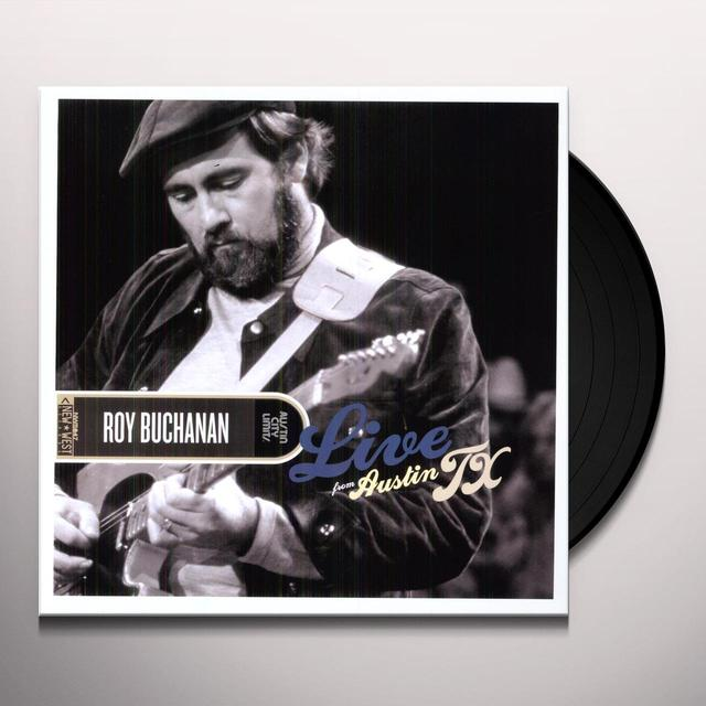 Roy Buchanan LIVE FROM AUSTIN TX Vinyl Record