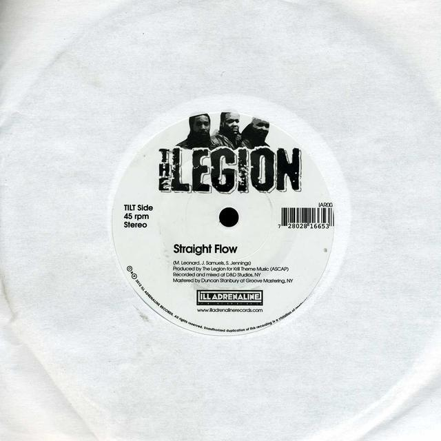 Legion STRAIGHT FLOW B/W AUCTION SYSTEMATIC Vinyl Record