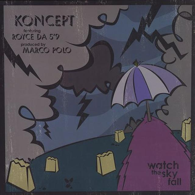 Koncept WATCH THE SKY FALL Vinyl Record
