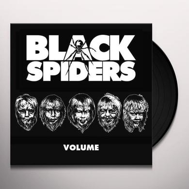 Black Spiders VOLUME Vinyl Record