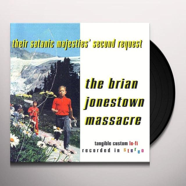 The Brian Jonestown Massacre THEIR SATANIC MAJESTIES SECOND REQUEST Vinyl Record
