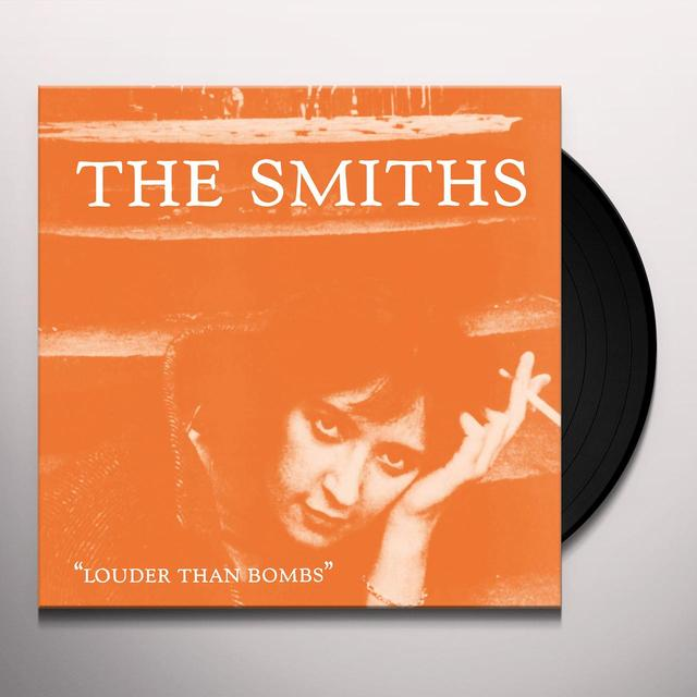 The Smiths LOUDER THAN BOMBS  (GER) Vinyl Record - 180 Gram Pressing