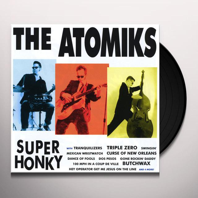 Atomiks SUPERHONKY Vinyl Record