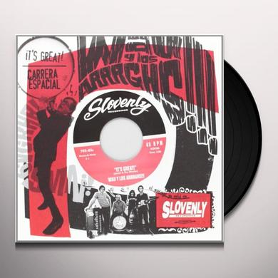 Wau Y Los Arrrghs CARRERA ESPACIAL / IT'S GREAT Vinyl Record