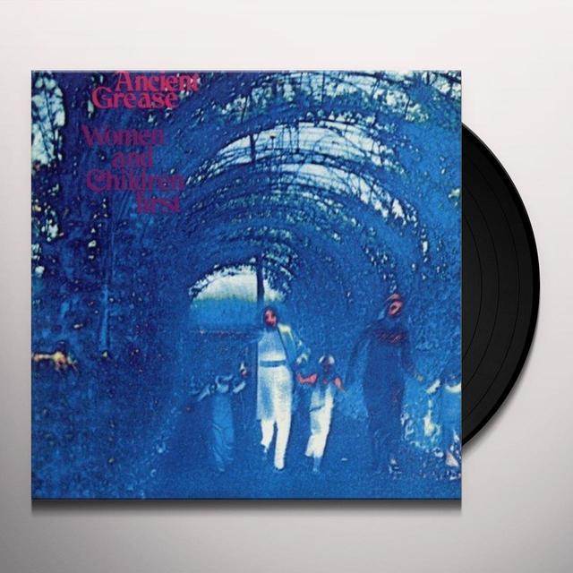 Van Halen WOMEN & CHILDREN FIRST Vinyl Record