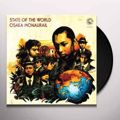 Osaka Monaurail STATE OF THE WORLD Vinyl Record
