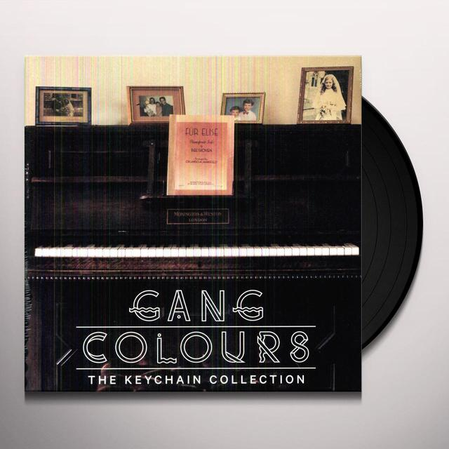 Gang Colours KEYCHAIN COLLECTION Vinyl Record