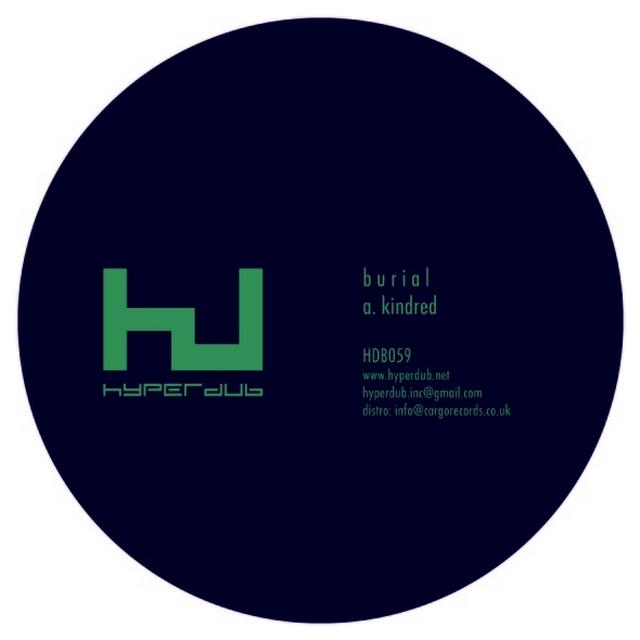 Burial KINDRED Vinyl Record