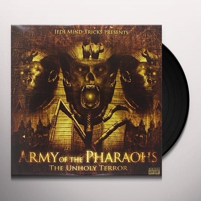 Jedi Mind Tricks: Army Of The Pharaohs UNHOLY TERROR (EXCO) Vinyl Record