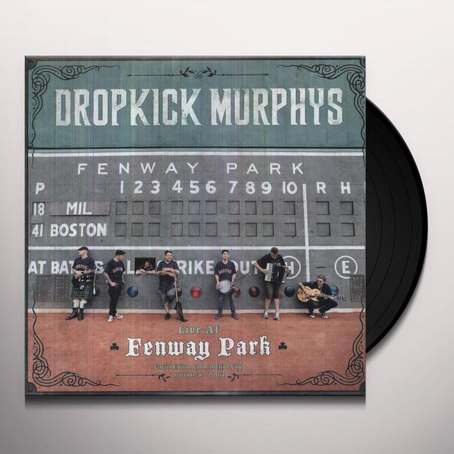 Dropkick Murphys LIVE AT FENWAY Vinyl Record