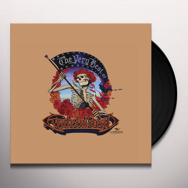 VERY BEST OF GRATEFUL DEAD Vinyl Record - Limited Edition, 180 Gram Pressing