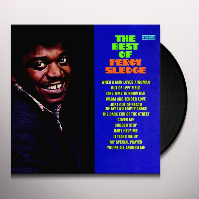 BEST OF PERCY SLEDGE Vinyl Record - Limited Edition, 180 Gram Pressing