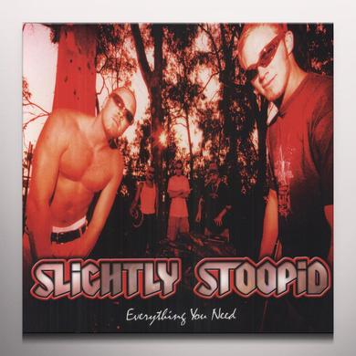 Slightly Stoopid EVERYTHING YOU NEED Vinyl Record - Colored Vinyl