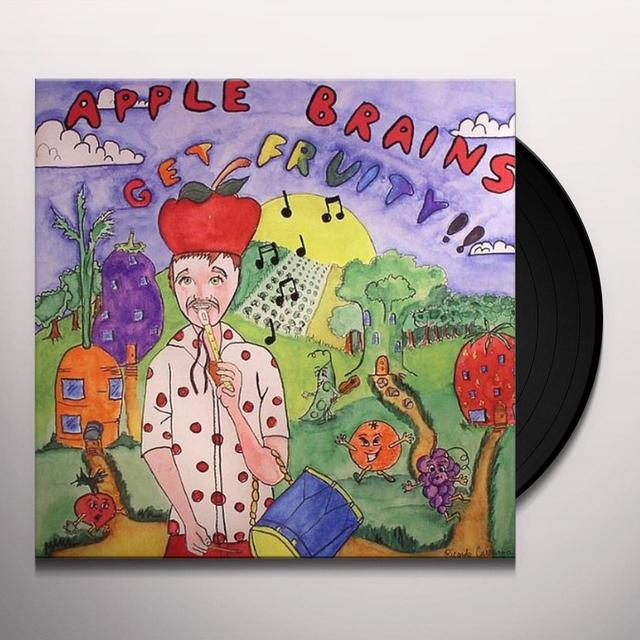 Apple Brains GET FRUITY Vinyl Record