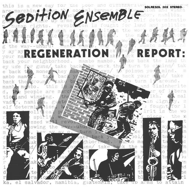 Sedition Ensemble REGENERATION REPORT Vinyl Record - Reissue