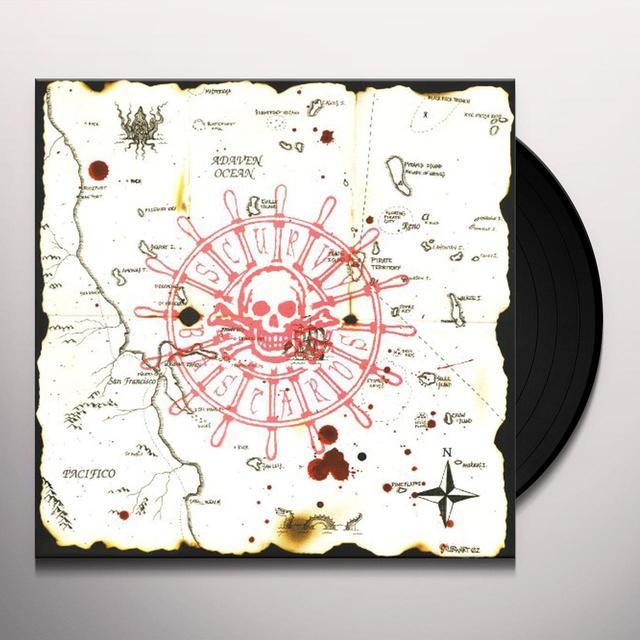 Scurvy Bastards BATTLE BORN Vinyl Record