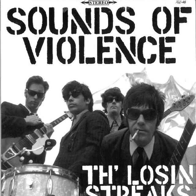 Th' Losin Streaks SOUNDS OF VIOLENCE Vinyl Record