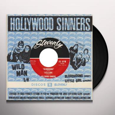Hollywood Sinners WILD MAN Vinyl Record