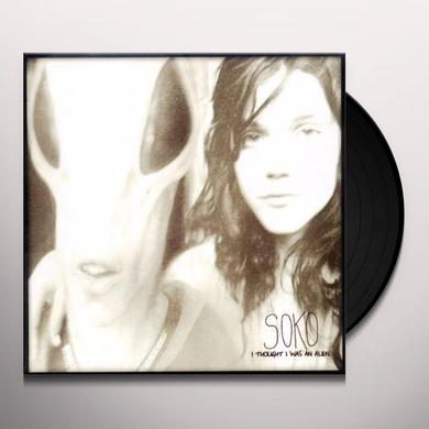 Soko I THOUGHT I WAS AN ALIEN Vinyl Record - w/CD