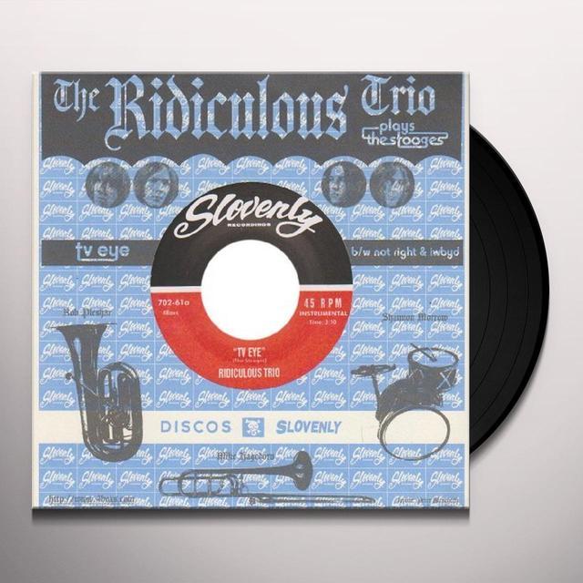 RIDICULOUS TRIO TV EYE Vinyl Record