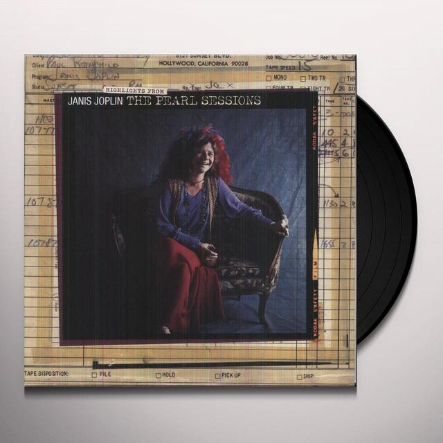 Janis Joplin HIGHLIGHTS FROM THE PEARL SESSIONS (Vinyl)