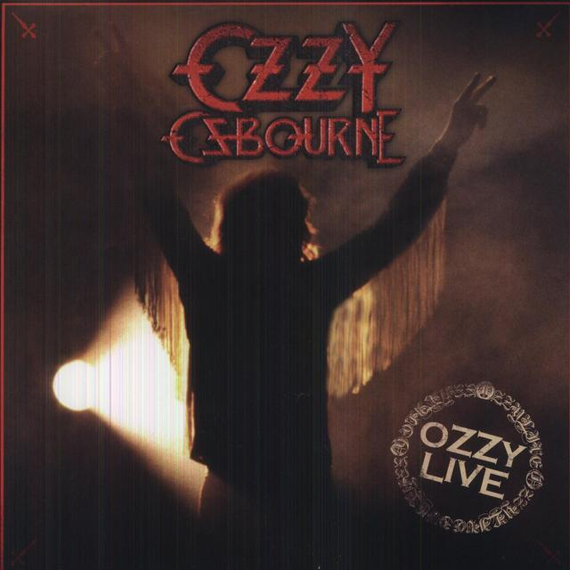 Ozzy Osbourne OZZY LIVE Vinyl Record - 180 Gram Pressing