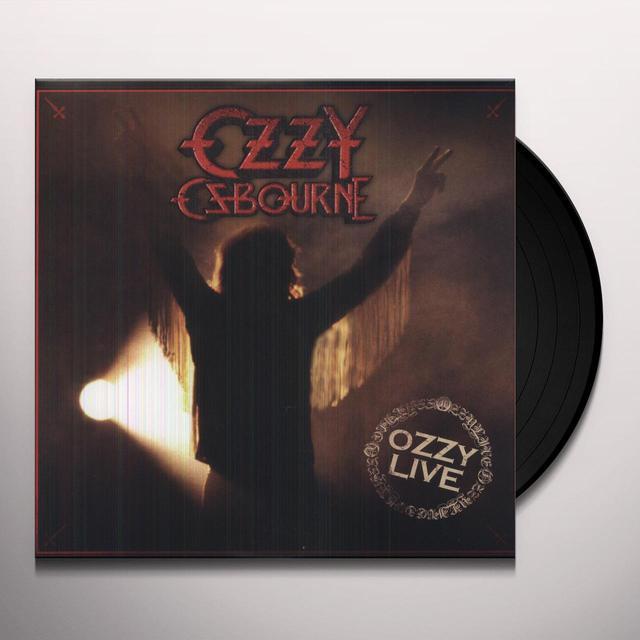 Ozzy Osbourne OZZY LIVE Vinyl Record