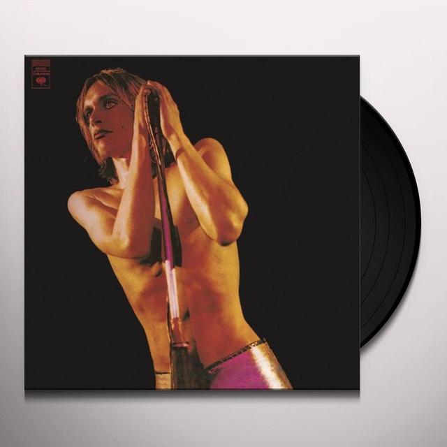 Iggy Pop & Stooges RAW POWER Vinyl Record