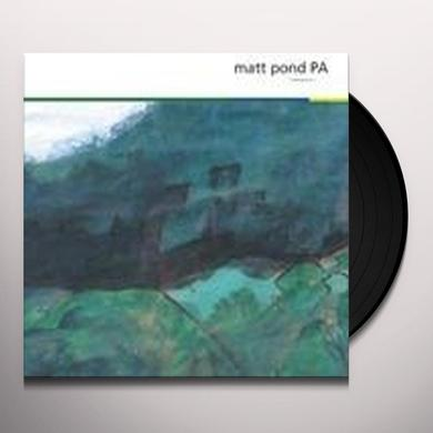 Matt Pond Pa MEASURE Vinyl Record