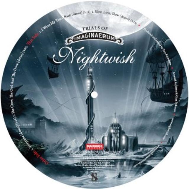 Nightwish TRAILS OF IMAGINAERUM Vinyl Record - Picture Disc