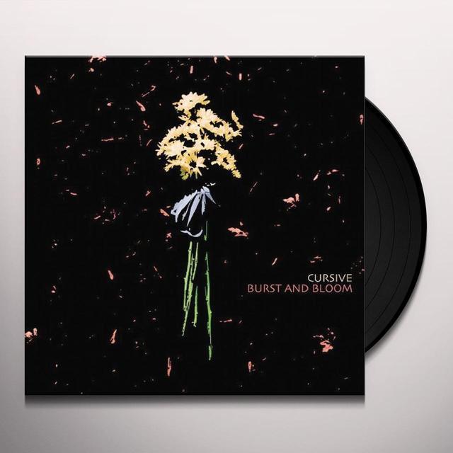 Cursive BURST & BLOOM Vinyl Record