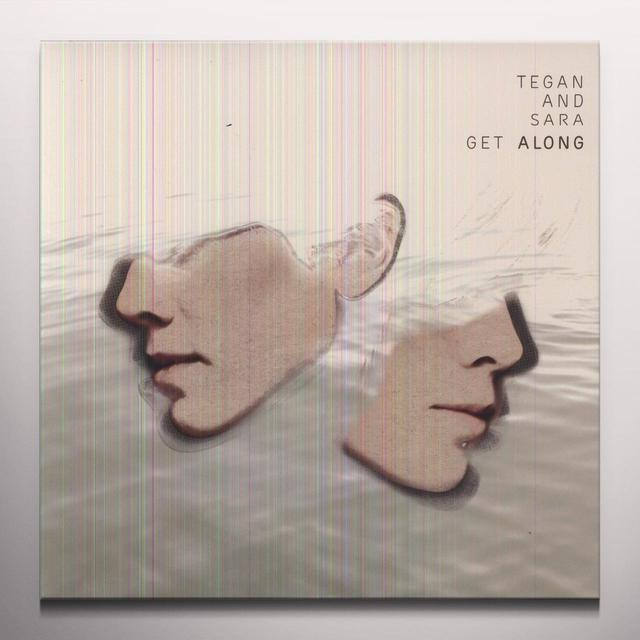 Tegan & Sara GET ALONG Vinyl Record - Colored Vinyl