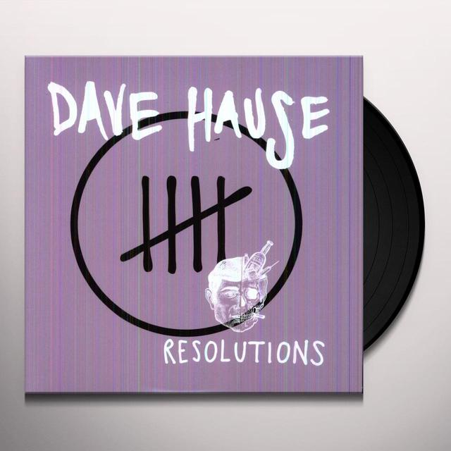 Dave Hause RESOLUTIONS Vinyl Record